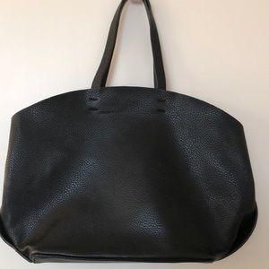 Zara faux leather bag